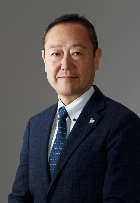 The Representative Director Yoshiyuki Kanefuji